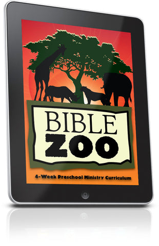 FREE Bible Zoo Preschool Ministry Lesson