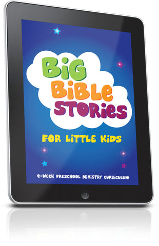 FREE Big Bible Stories For Little Kids Preschool Lesson