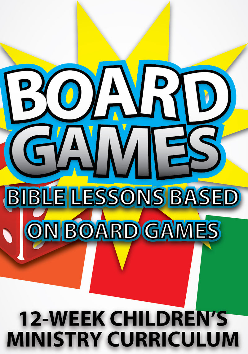 Board Games 12-Week Children's Ministry Curriculum