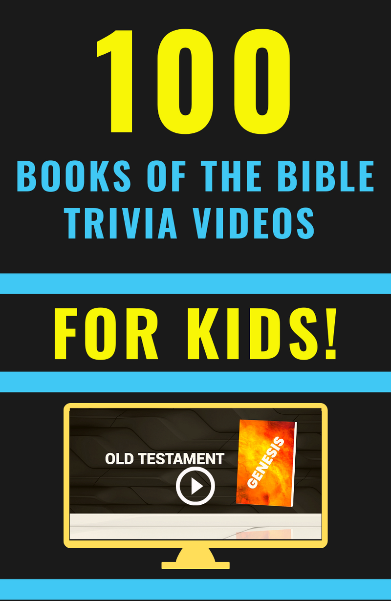 Books Of The Bible Trivia Game Bundle