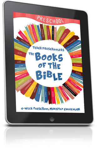 FREE Books of the Bible Preschool Ministry Lesson