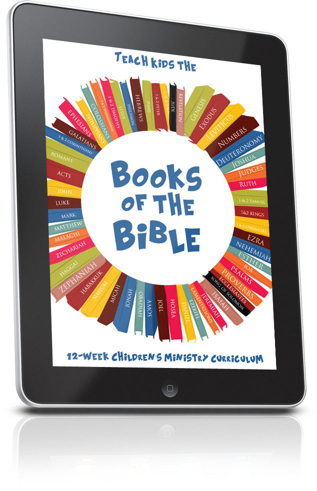 FREE Books of the Bible Sunday School Lesson