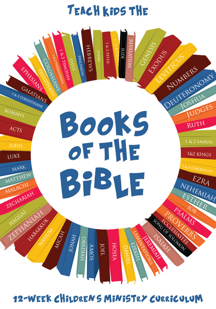 Books Of The Bible 12 Week Childrens Ministry Curriculum