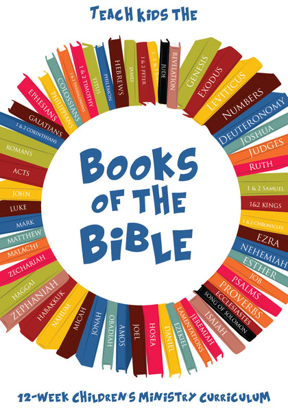 Books of the Bible 12Week Children 39 s Ministry Curriculum