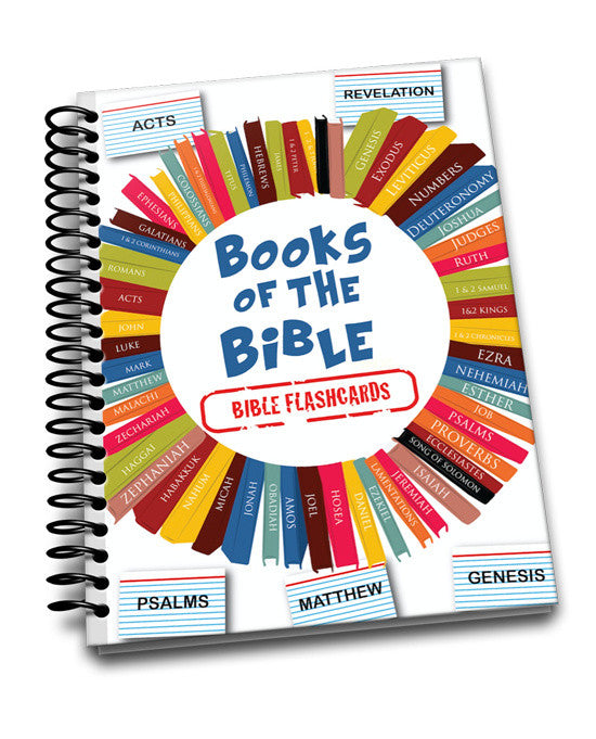 Free Books Of The Bible Flash Cards