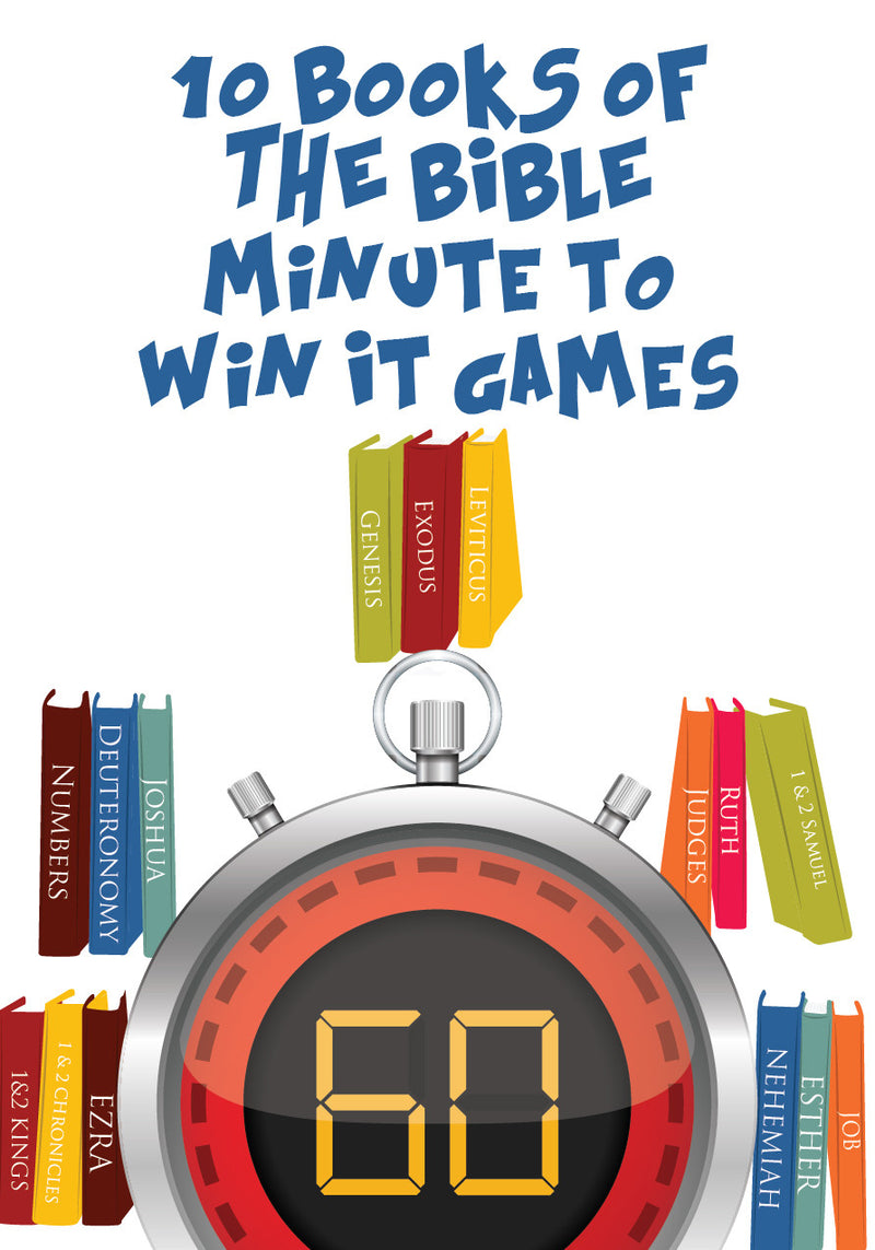 Books of the Bible Minute to Win It Games – Children\'s Ministry Deals