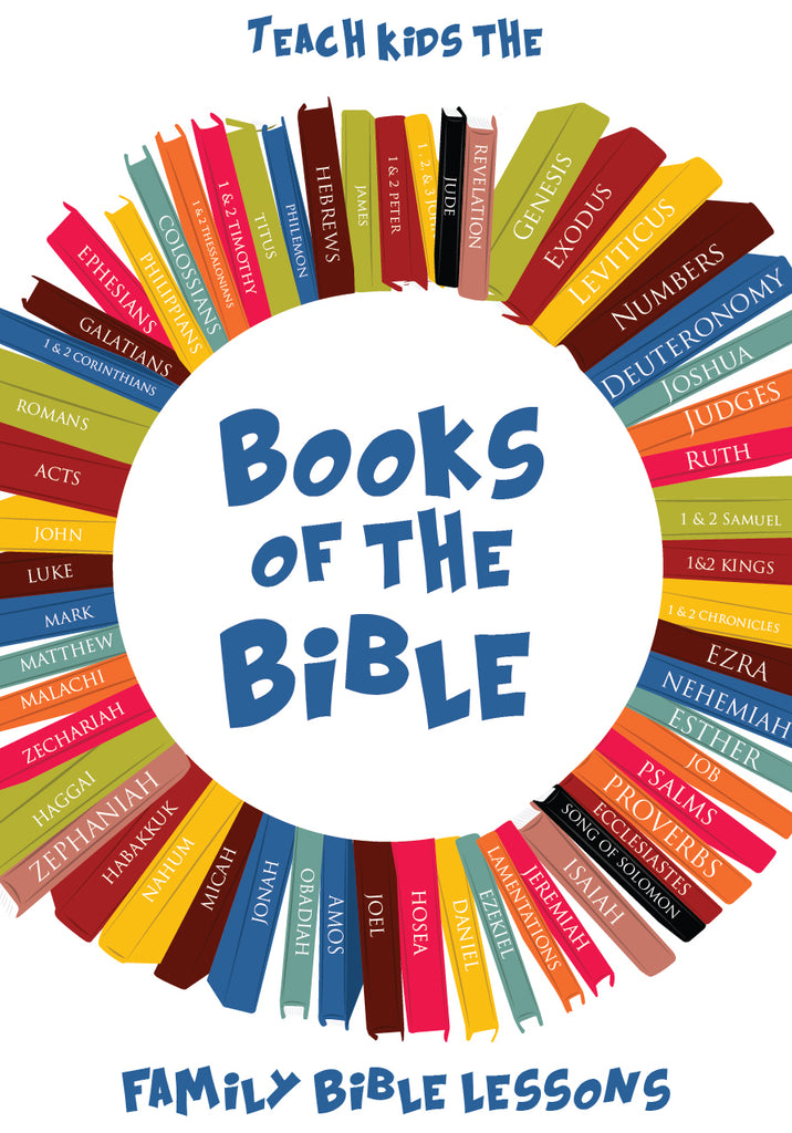 Books of the Bible Family Bible Lessons