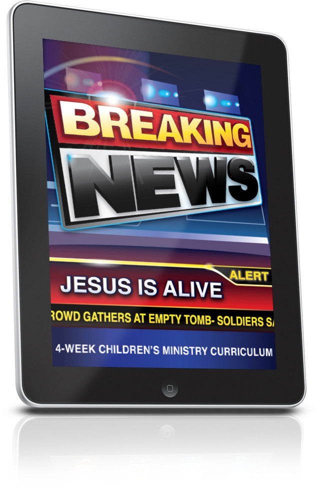 FREE Breaking News Easter Children's Ministry Lesson