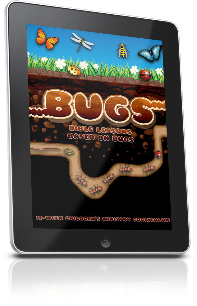 FREE Bugs Children's Ministry Lesson