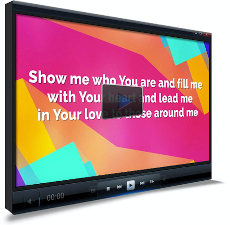 Build My Life Worship Video For Kids