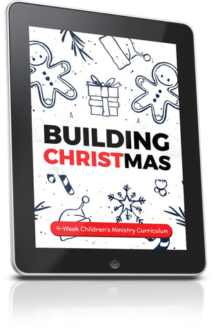 FREE Building Christmas Children's Ministry Curriculum Lesson