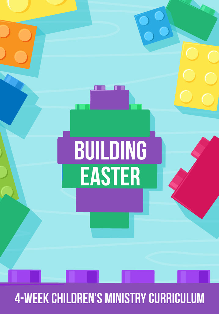 FREE Building Easter Children's Ministry Lesson