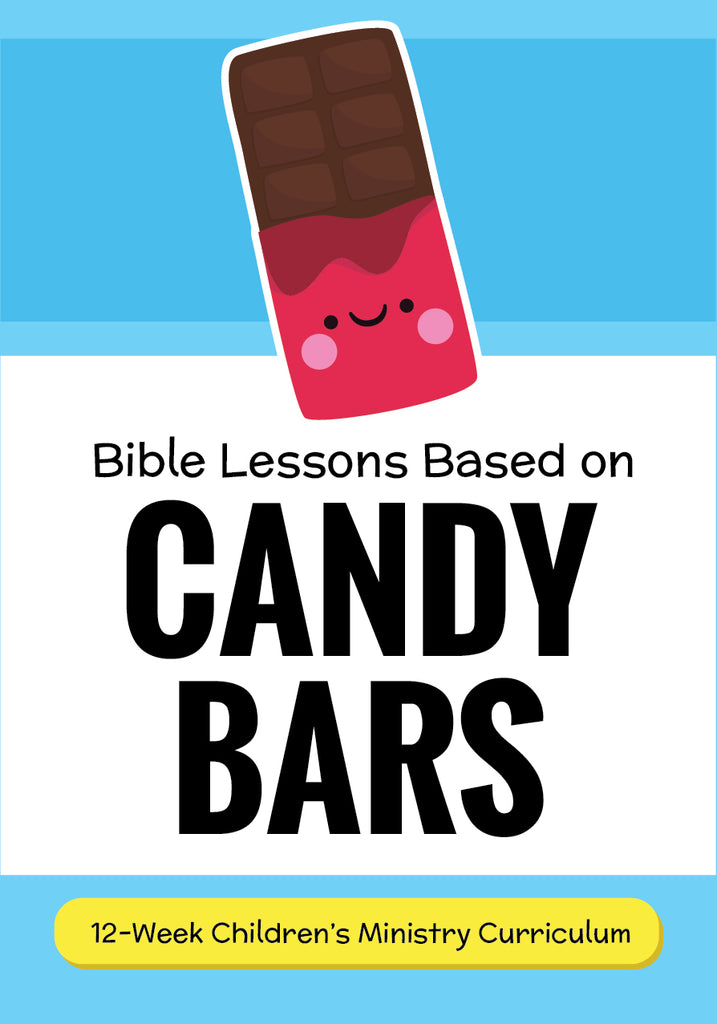 photo relating to Free Printable Children's Church Curriculum named Sweet Bars 12-7 days Childrens Ministry Curriculum