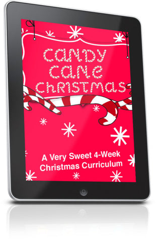 FREE Candy Canes Children's Ministry Lesson