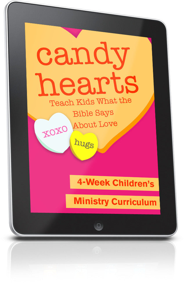 FREE Candy Hearts Children's Ministry Lesson