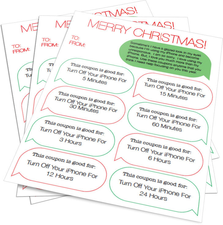 Free Gift Coupons for Parents Who Have iPhones