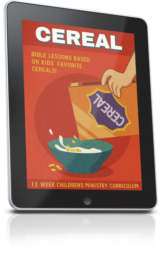 FREE Cereal Children's Ministry Lesson