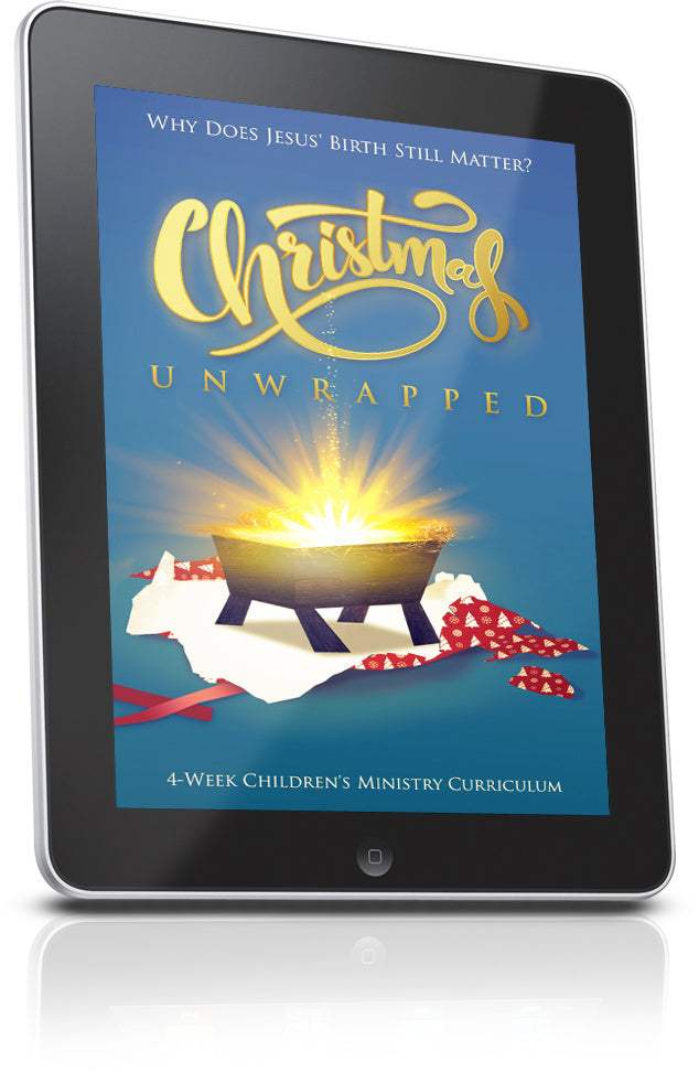 FREE Christmas Unwrapped Sunday School Lesson