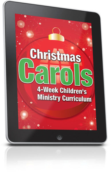 FREE Christmas Carols Children's Ministry Lesson