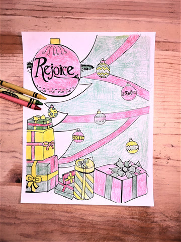 Christmas Coloring Page Ornaments Children S Ministry Deals