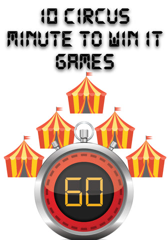 Circus Minute to Win It Games