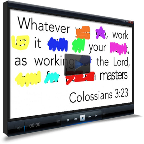 Colossians 3:23 Memory Verse Video