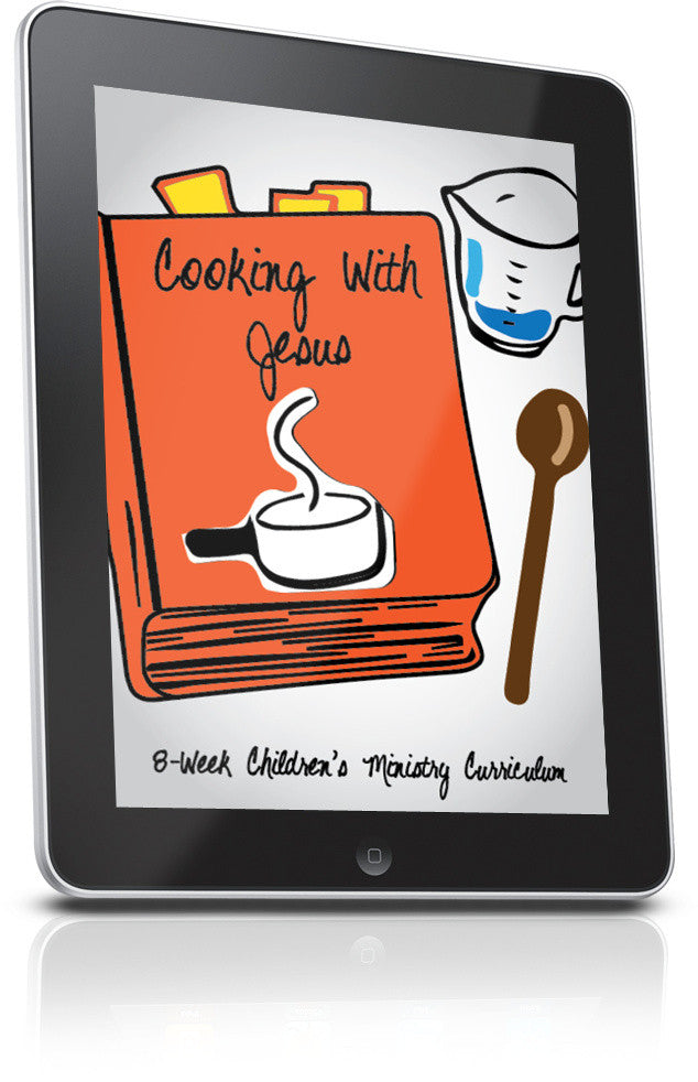FREE Cooking With Jesus Children's Ministry Lesson