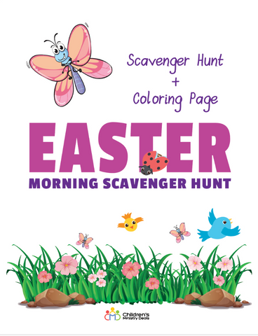 Easter Indoor Scavenger Hunt