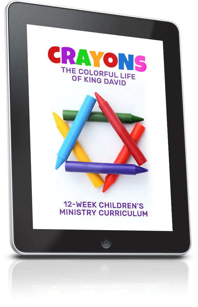 FREE Crayons Children's Ministry Lesson