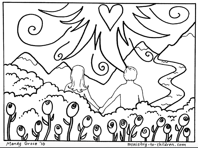 - Creation Coloring Pages