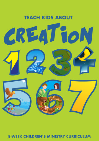 Creation 4-Week Children's Ministry Curriculum