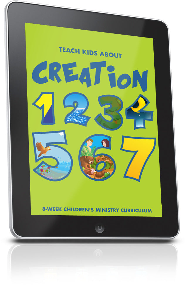 FREE Creation Children's Ministry Lesson