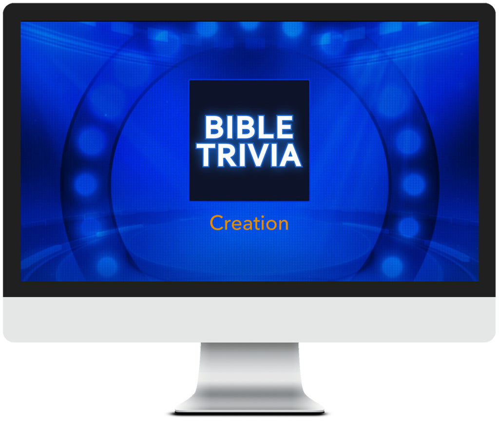 Creation Bible Trivia Game for Kids