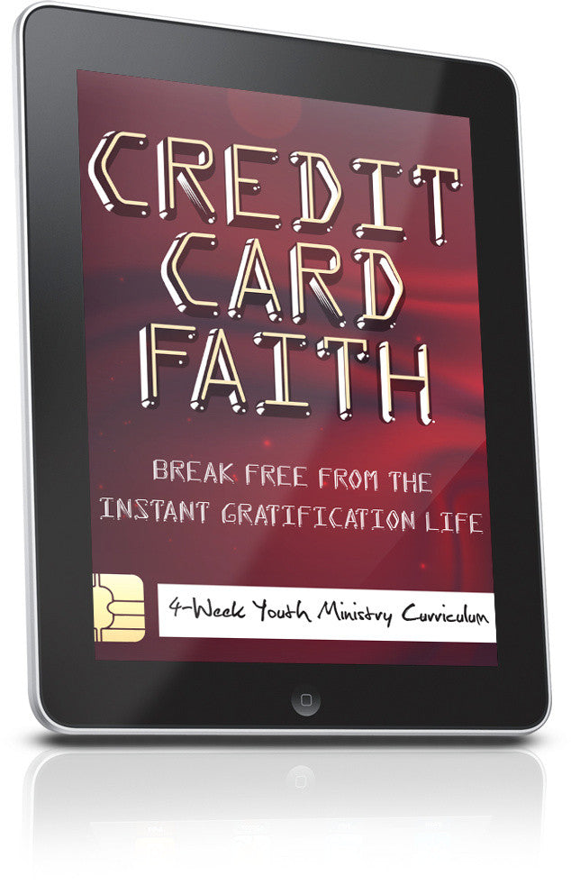 FREE Credit Card Faith Youth Curriculum Lesson