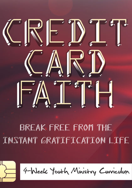 Credit Card Faith Youth Curriculum Children S Ministry Deals