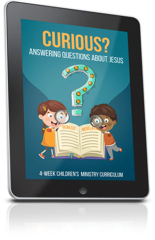 FREE Curious Sunday School Lesson