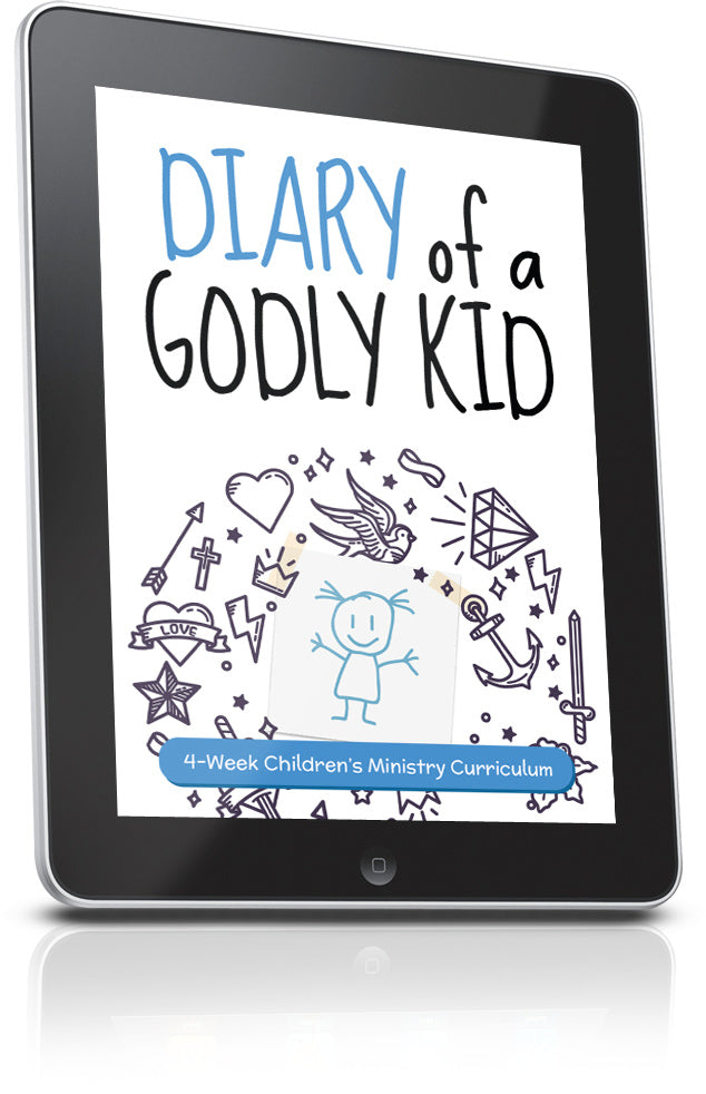 FREE Diary of a Godly Kid Children's Ministry Lesson