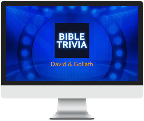 David and Goliath Bible Trivia Game for Kids