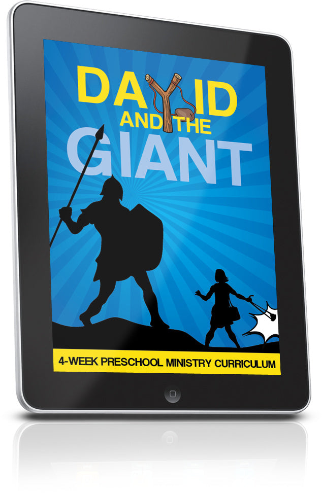 David and Goliath Preschool Ministry lesson