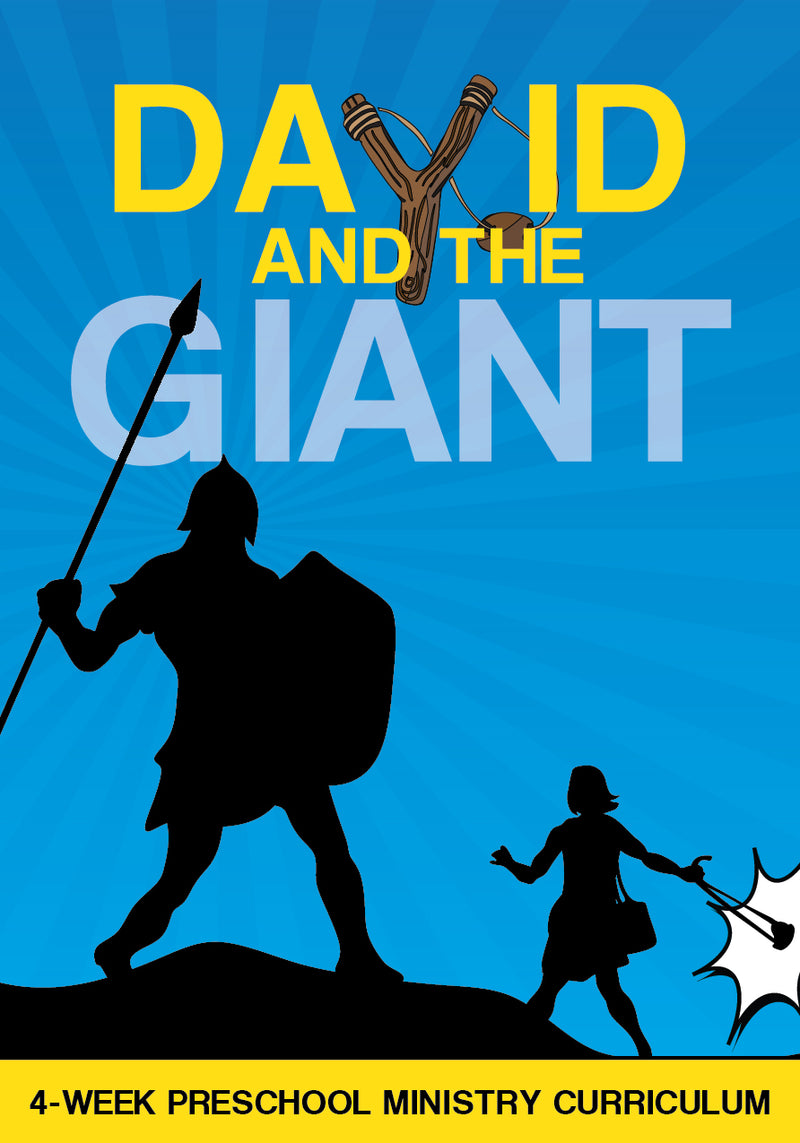 David And The Giant 4-Week Preschool Ministry Curriculum