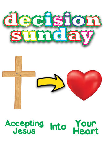 Decision Sunday Children's Ministry Lesson
