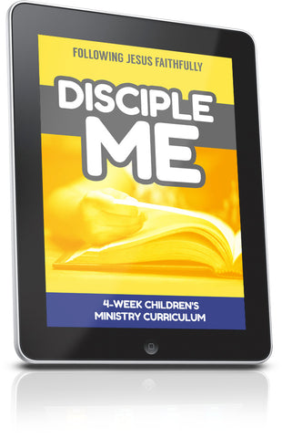 FREE Disciple Me Children's Ministry Lesson