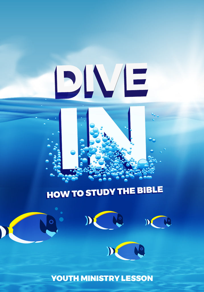 Dive In Youth Ministry Lesson