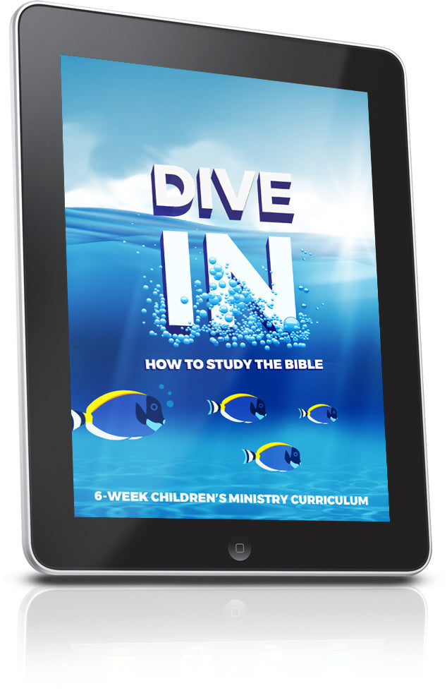 FREE Dive In Children's Ministry Lesson