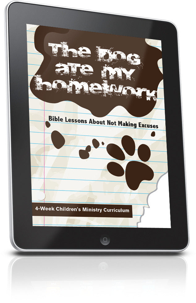 Dog Ate My Homework Children's Ministry Curriculum