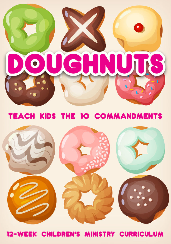 Doughnuts 12-Week Children's Ministry Curriculum