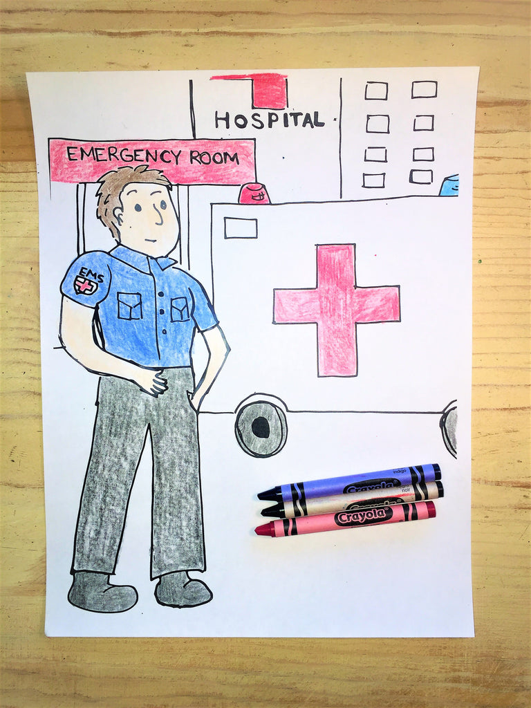 FREE EMT Coloring Page
