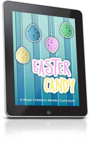 FREE Easter Candy Children's Ministry Lesson
