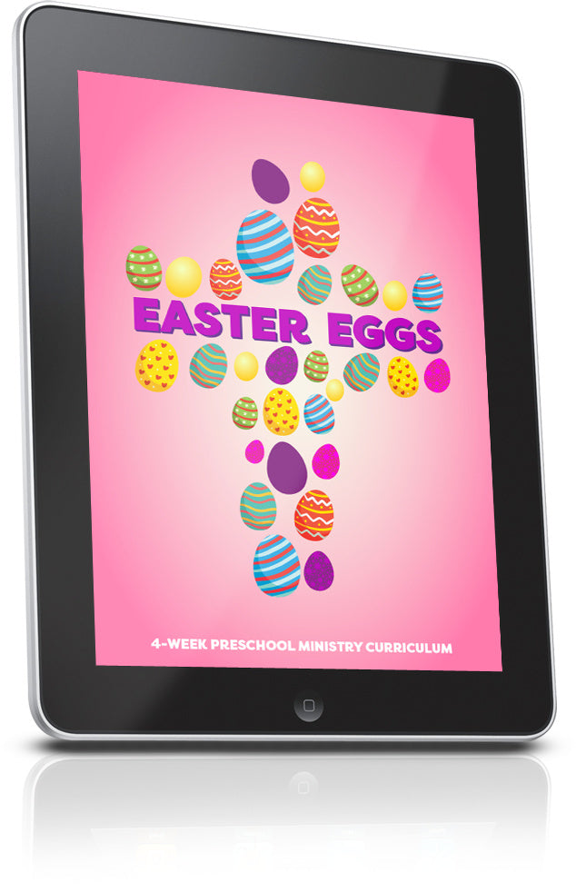 FREE Easter Eggs Preschool Ministry Lesson
