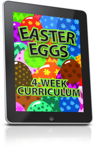 FREE Easter Eggs Children's Ministry Lesson